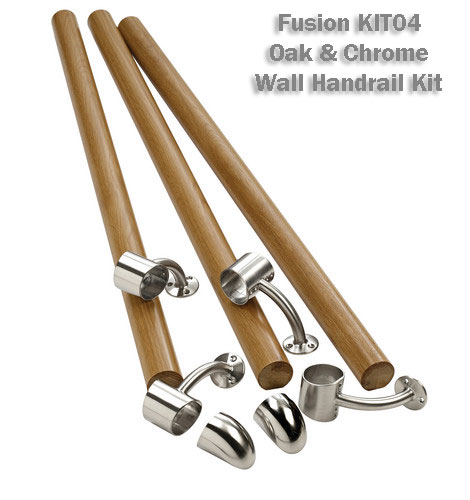 Fusion wall handrail kit