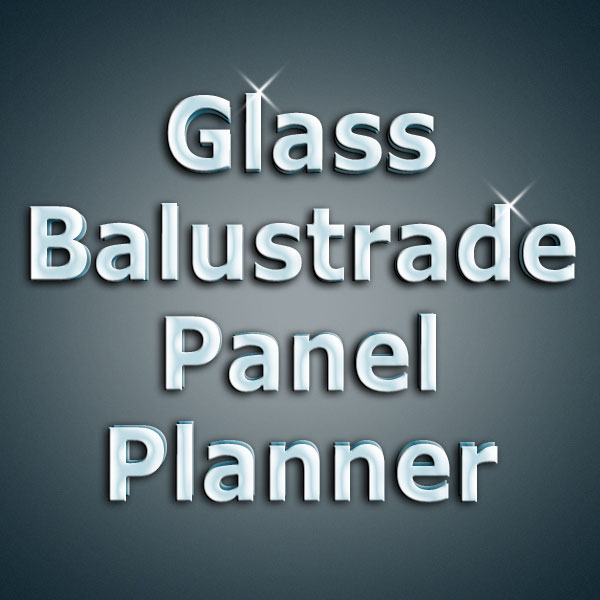 Order Glass panles for stairs