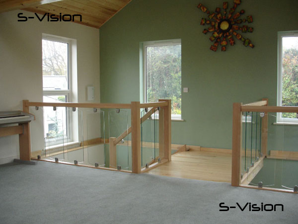S-Vision Glass Landing Balustrade
