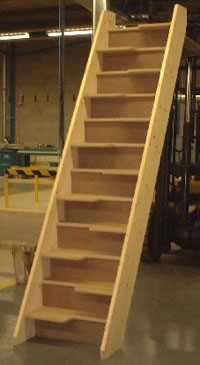 Budget Space saving staircase