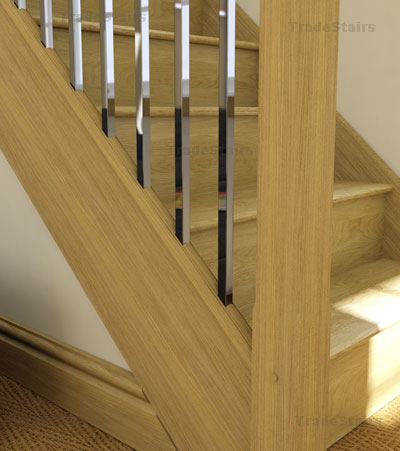 Axxys square stair balusters