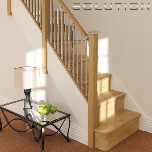 Solution Stairparts a new stair banister system