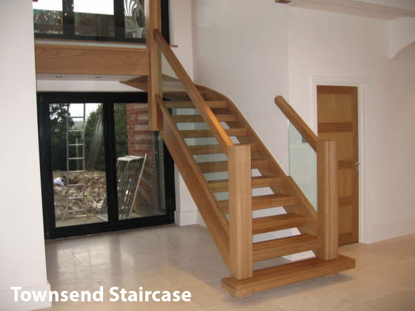 Oak Townsend Staircase