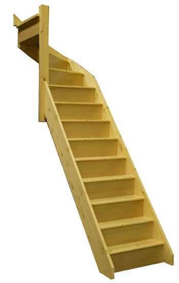 Pine Winder stairs