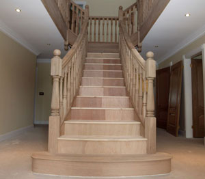 Oak Flared staircase