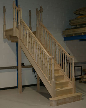 Hemlock Staircase parts