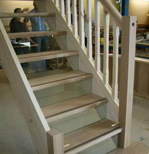 Glass Riser Stair