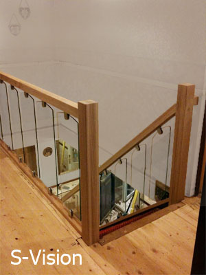 S-Vision Glass Balustrade